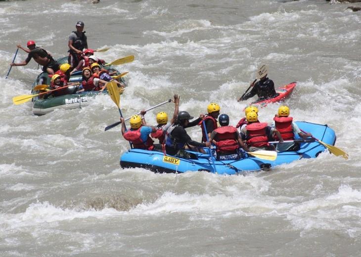 Kali Gandaki River Rafting budget trekking